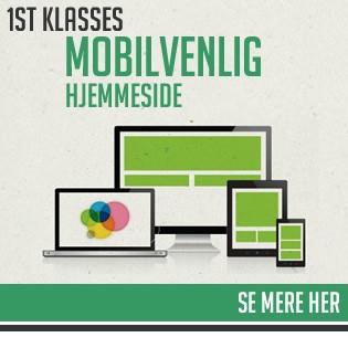 mobilvenlig webside